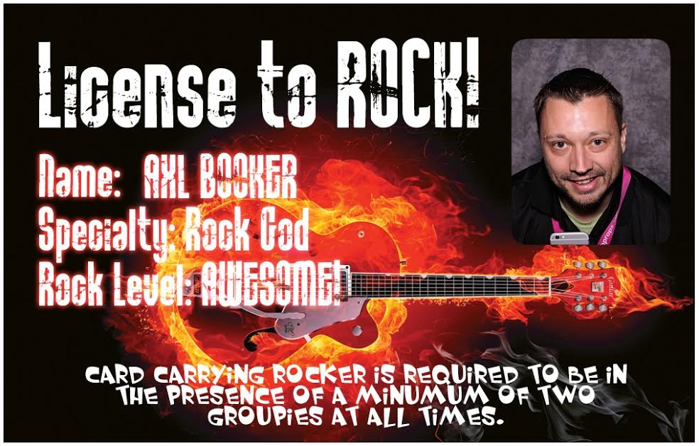 License to Rock - Custom ID Card printer Photo Booths for sale from Your City Photo Booths