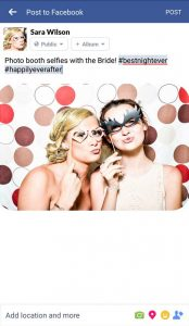 Selfies-with-the-bride---Gif-Photo-Booth-for-sale---Your-City-Photo-Booth